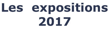 Les  expositions 2017